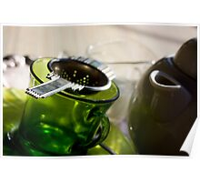 Green Tea for One Poster