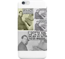 Richard Nixon Sings HIs Greatest Hits iPhone Case/Skin