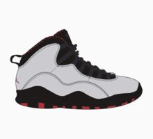 "Air Jordan X (10) ""Chicago"" by gaeldesmarais"