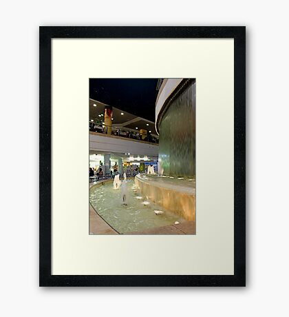 sounds of water... Framed Print