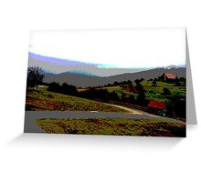 Apple Farm Greeting Card