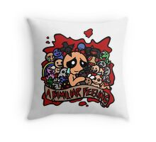 Binding of Isaac:A Familiar Feeling Throw Pillow