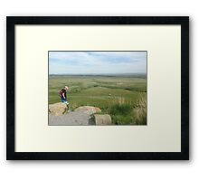 Discovering the Prairies Framed Print