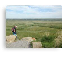 Discovering the Prairies Canvas Print