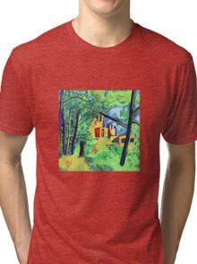 Cézanne - Château Noir Tri-blend T-Shirt