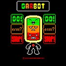 GARBOT Black Background by atombat