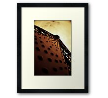 The nuts and bolts of the Eiffel Framed Print