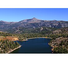 High Sierra Lake Photographic Print