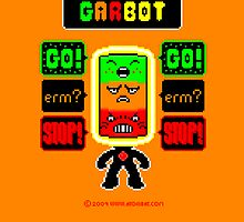 GARBOT Amber Background by atombat