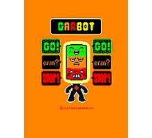 GARBOT Amber Background Photographic Print