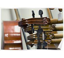 France - Paris 75019 - Luthier Poster