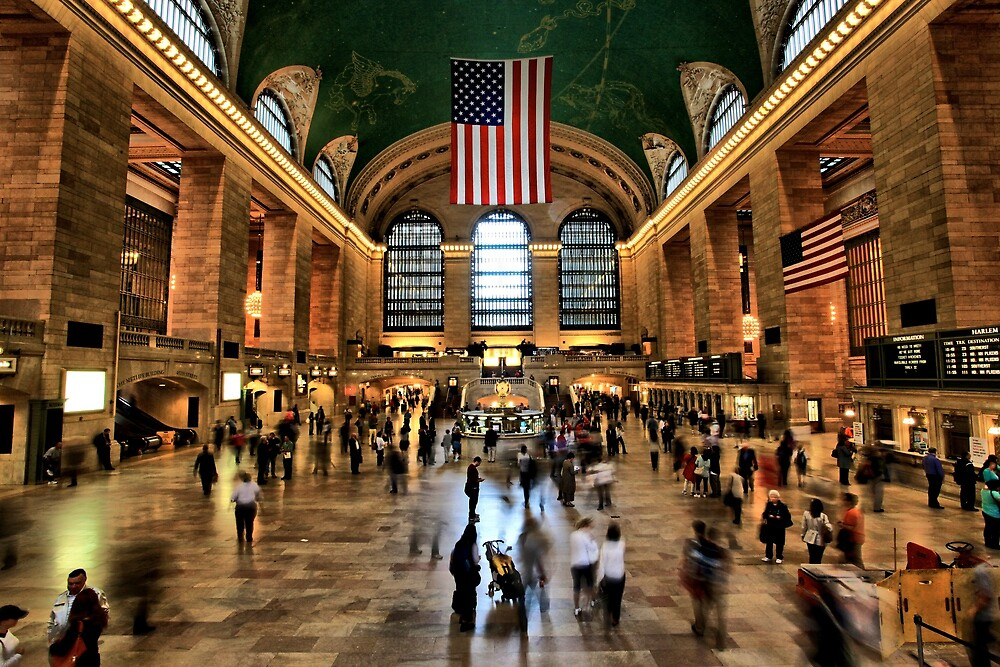 Grand Central in Motion by Ken Yuel