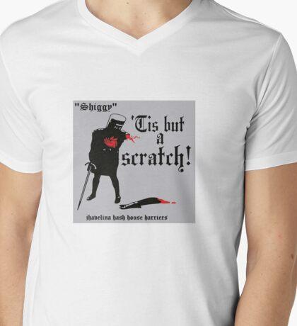 Tis But A Scratch Mens V-Neck T-Shirt