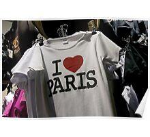 France - Paris Poster