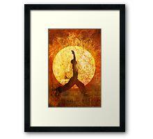 Sun Salute Framed Print
