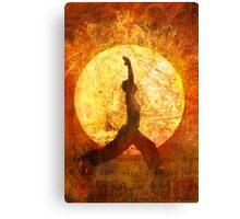 Sun Salute Canvas Print