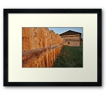 Fort Meigs Framed Print
