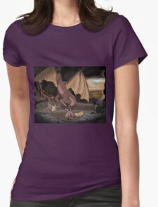 Dragon Mother Womens Fitted T-Shirt