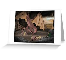Dragon Mother Greeting Card