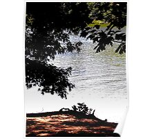 Longwood Lake Solarized Poster