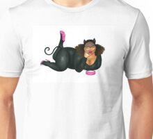The Cat who got Too Much Cream Unisex T-Shirt