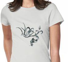 Renaissance dove flight Womens Fitted T-Shirt