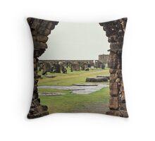 Ruins at St. Andrews, Fife Throw Pillow