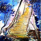 Stairway to Heaven - Fantasy by  Linda Callaghan