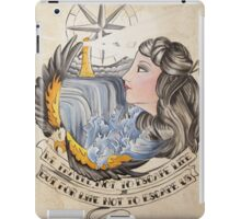 We Travel Not to Escape Life iPad Case/Skin