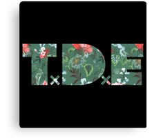 TxDxE - Floral! Canvas Print