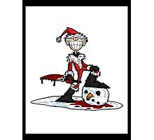 frosty's demise... Photographic Print
