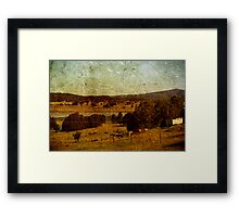 A Different Pace Of Life Framed Print