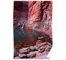 """Handrail Pool"" Karijini National Park, Western Australia Poster"
