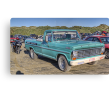 F100, Oreti Beach Canvas Print
