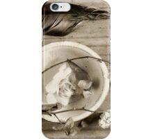 Silence ... iPhone Case/Skin