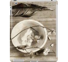 Silence ... iPad Case/Skin