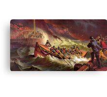Rescue at Sea Canvas Print