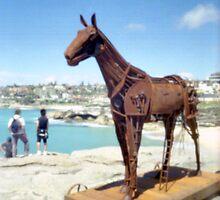 SBTS - pinhole 1 - Trojan Horse by David Amos