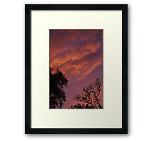 Quiet dusk Framed Print