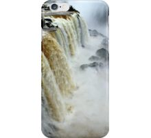 Devil's Throat at Iguassu Falls, Brazil & Argentina.  iPhone Case/Skin