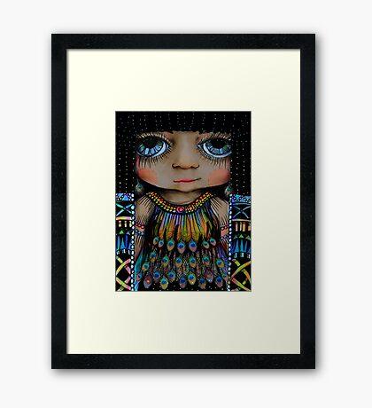 Little Cleopatra Framed Print