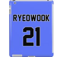 Super Junior Ryeowook Jersey iPad Case/Skin