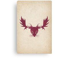 Moose Mouse Canvas Print