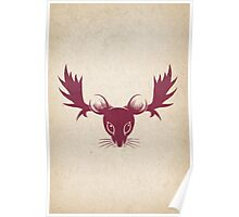 Moose Mouse Poster