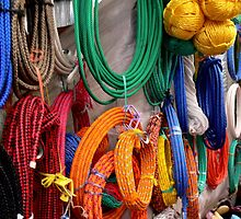 Which Rope....Central American Market by graeme edwards