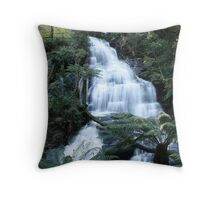 Waterfall...Otway Ranges, Victoria Throw Pillow
