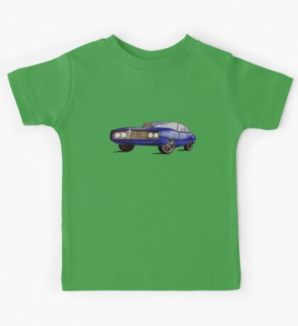 Classic Dodge Charger Kids Tee