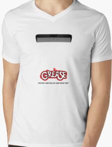 Grease Minimal Movie Poster Mens V-Neck T-Shirt