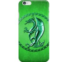 Green Celtic Dragon iPhone Case/Skin