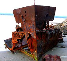 Woody Point Wreck, Queensland by Bowen Bowie-Woodham